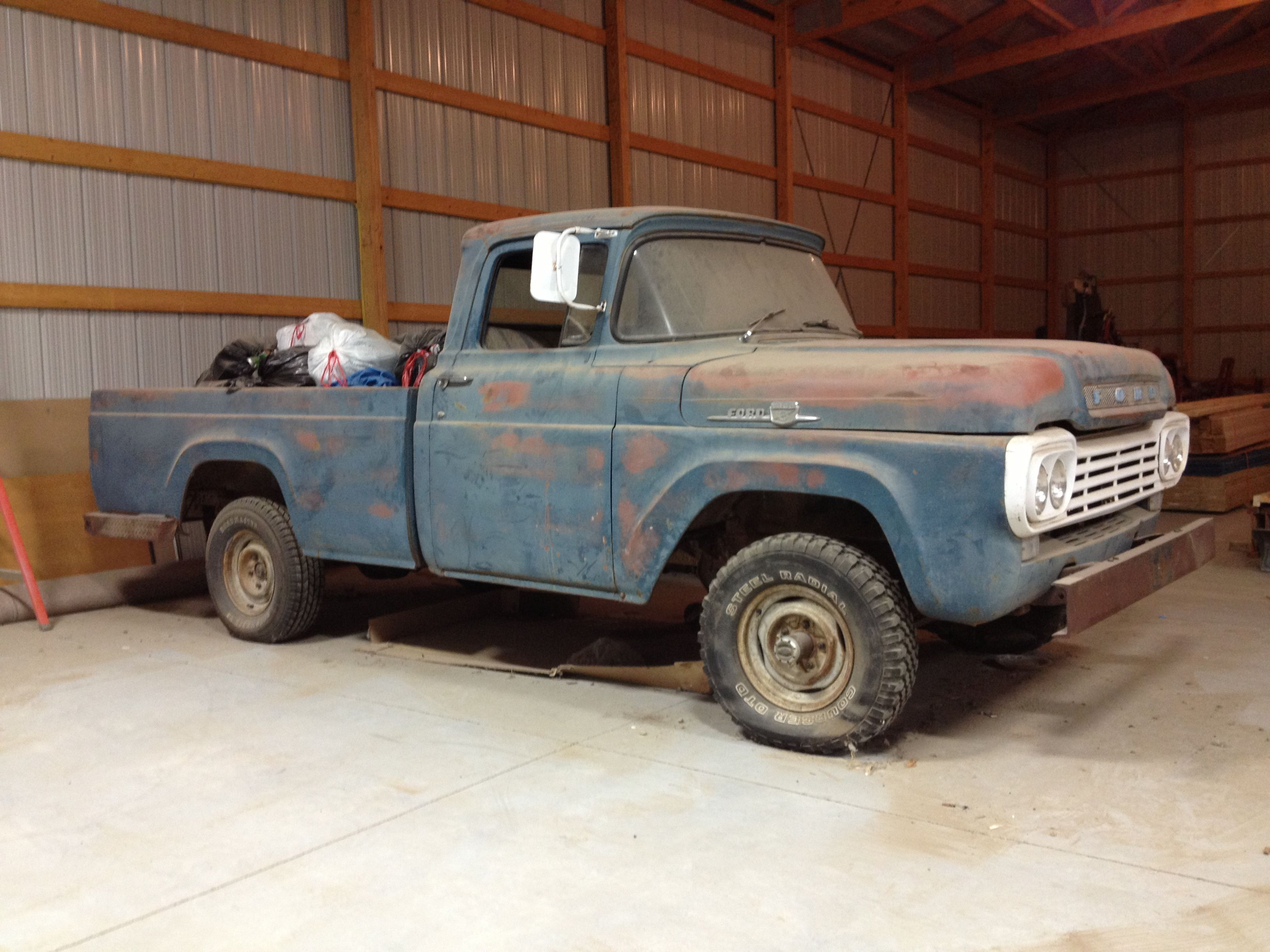 59 F100 4WD SOLD!!! | Cars and motorcyles | Pinterest