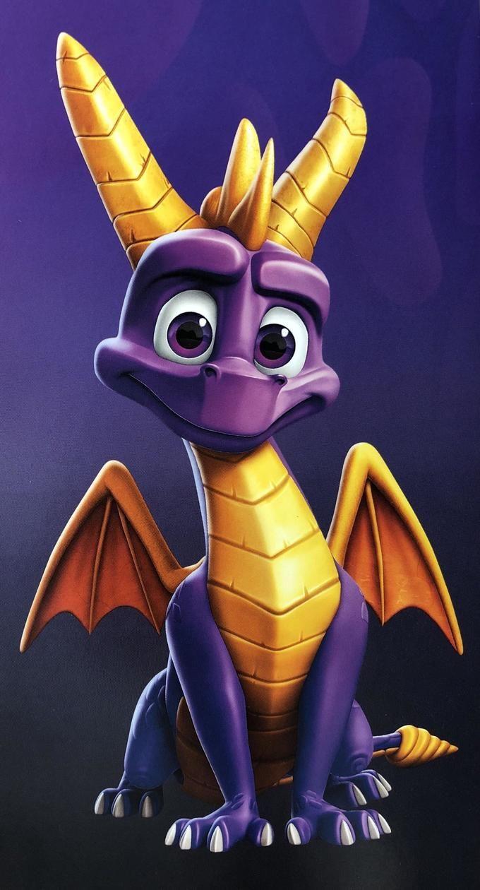 A Good Boy  Spyro The Dragon, Spyro, Cynder, Video Game -1014