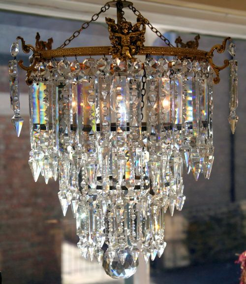 An Edwardian Chandelier For The Living Room