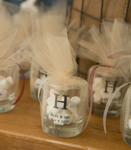 Shot Gles Filled With Wedding Mints Make Impressive Favors See More Favor And Party Ideas At Www One Stop