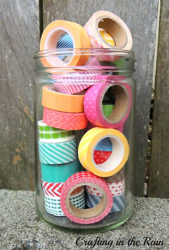 How to Clean Your Washi Tape | Super-cool-amazing stuff that I love