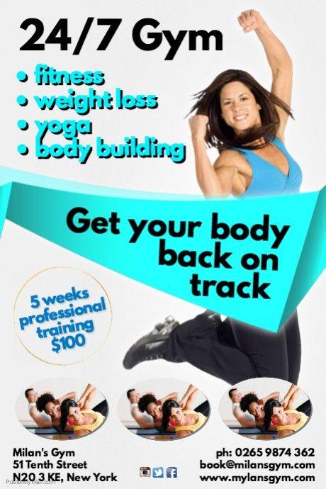 fitness club flyer favourable pinterest club flyers fitness