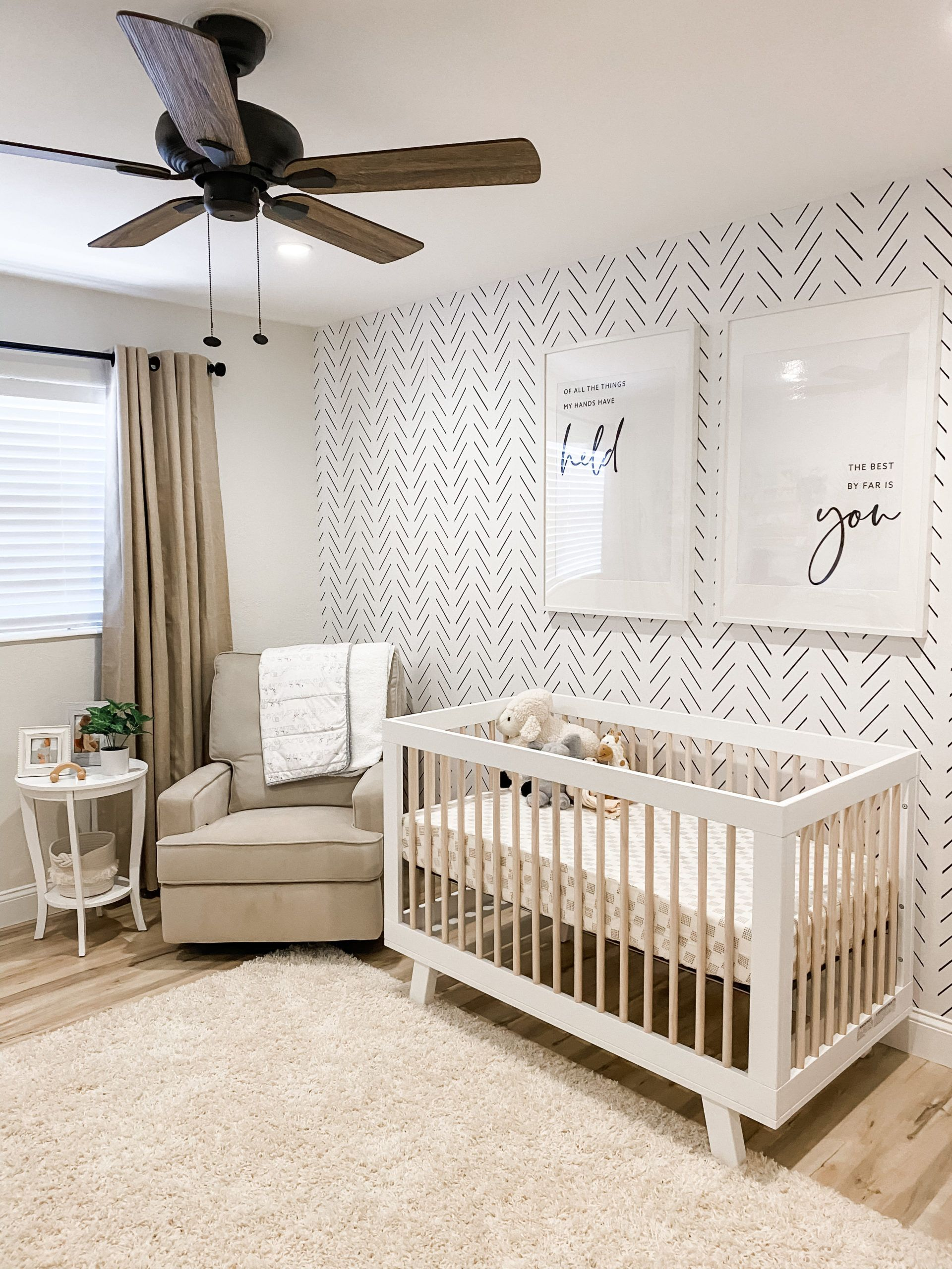 In the Nursery with Millennial Miss - Project Nursery