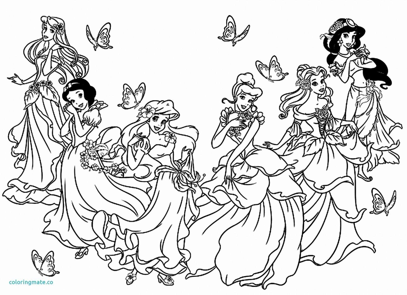 Dessins À Imprimer Princesses - KBACHA.COM  KBACHA.COM