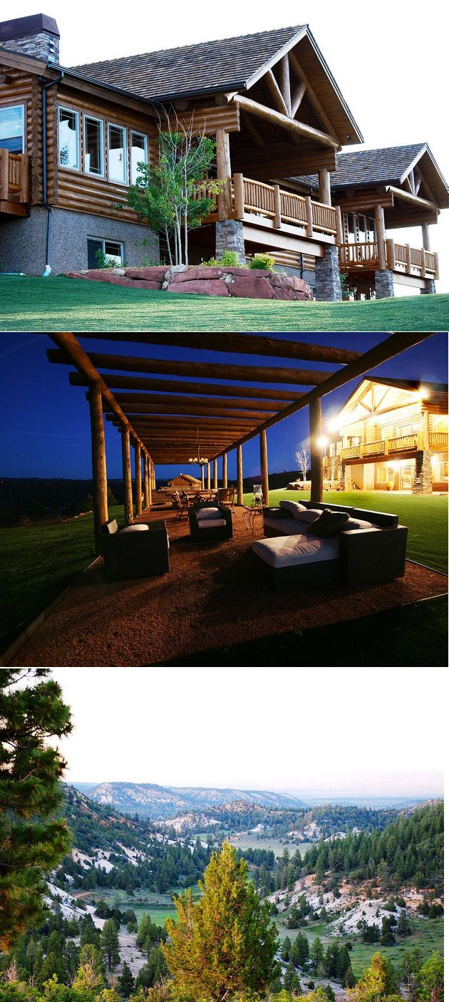 Bryce Canyon estate Rental _ perfect for Large Groups or families.  I could get used to looking at the view every night!