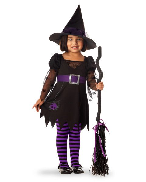 Kids Costume – Toddler Wee Wittle Witch. | Halloween | Pinterest ...