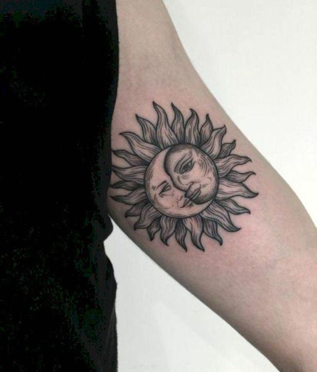 50 Adorable Sun Tattoos Ideas For Men And Women