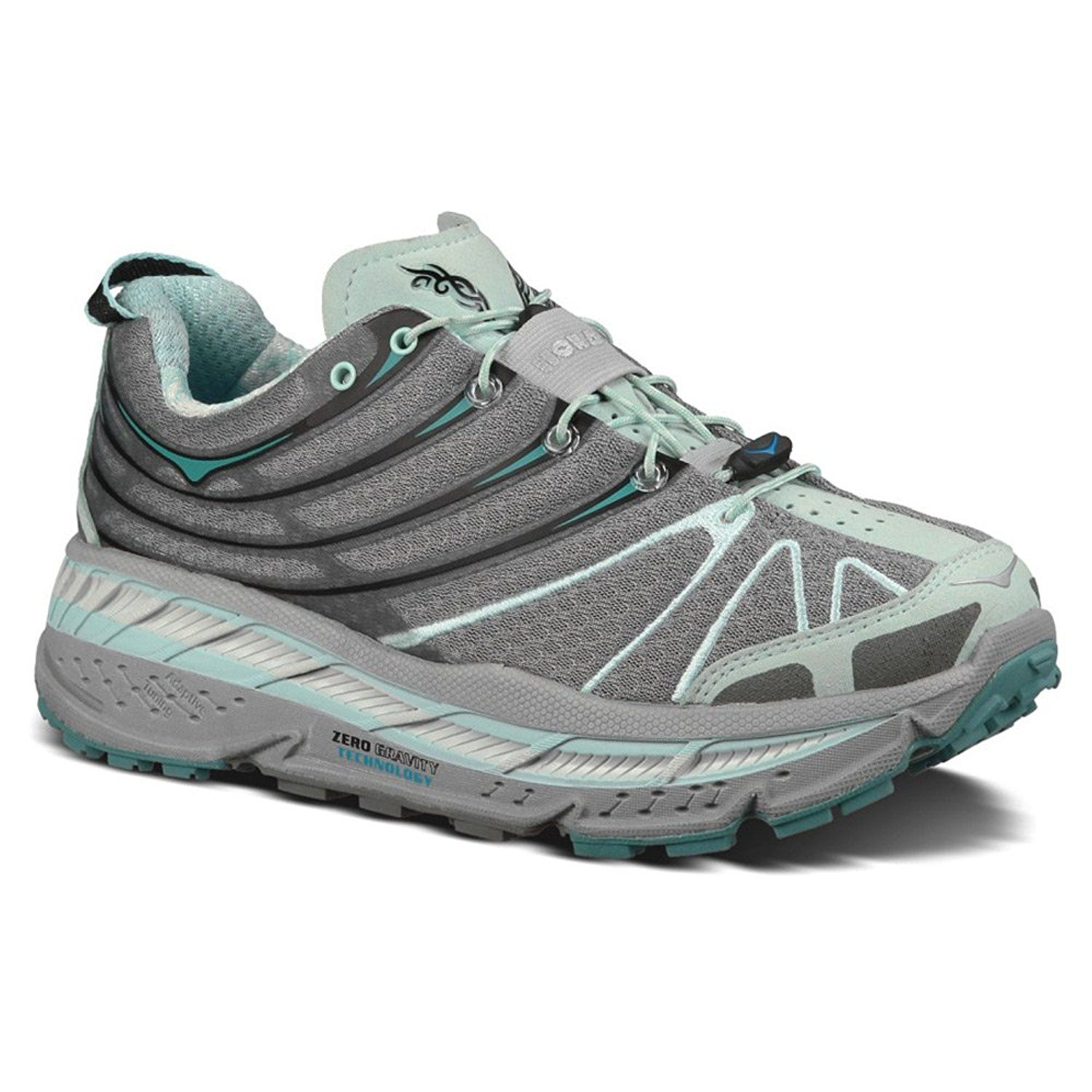 Hoka One One Women's W Stinson Trail , Light Blue/ Grey/ Grey ** Check out this great product.
