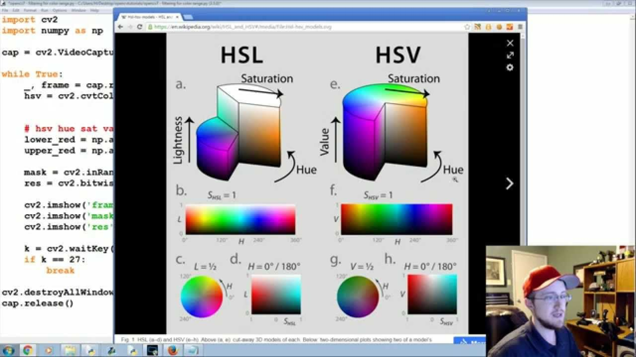 Color Filtering Opencv With Python For Image And Video Analysis