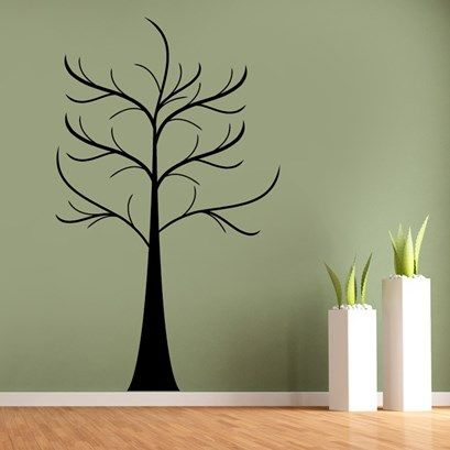Bare tree wall art from next wall stickers personalised