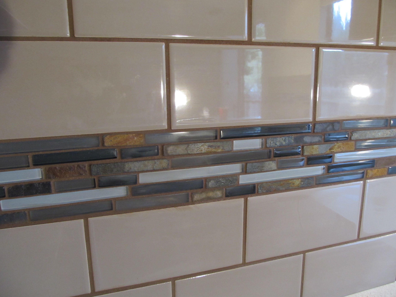 Tiled Kitchen Backsplash Modern Kitchen Wall Decor Kitchen