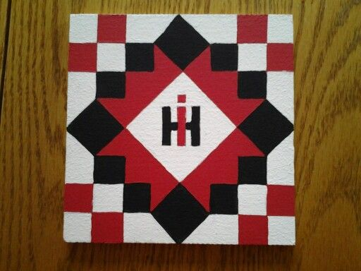 60 International Harvester Design 2 Barn Quilt Patterns Barn