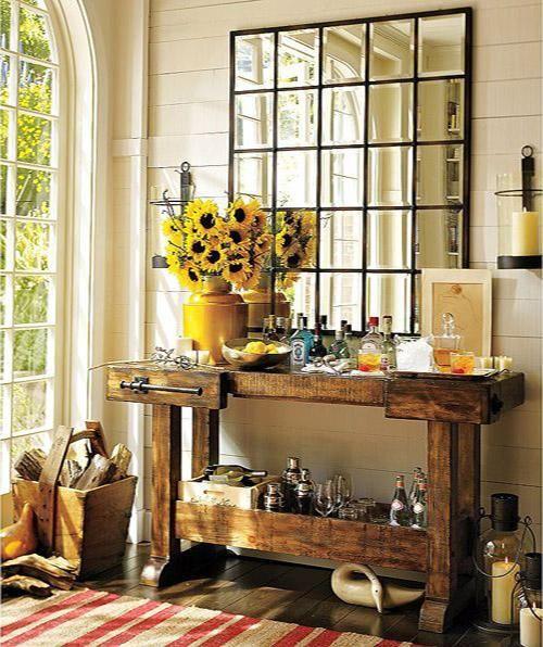 Cinco propuestas para decorar con espejos en tu hogar en for Espejos originales recibidor
