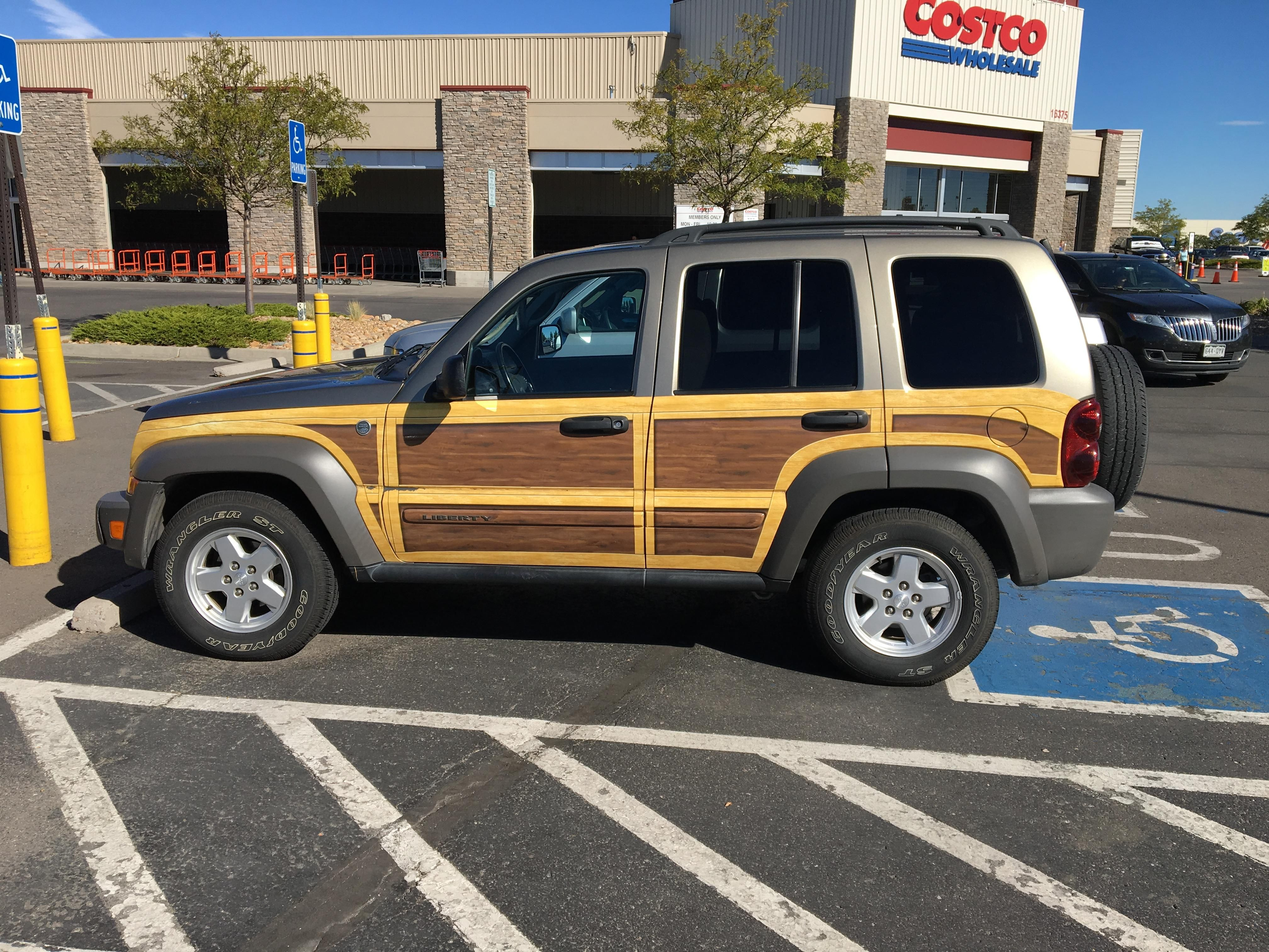 Woody Liberty spotted at Costco north of Denver jeep jeeplife