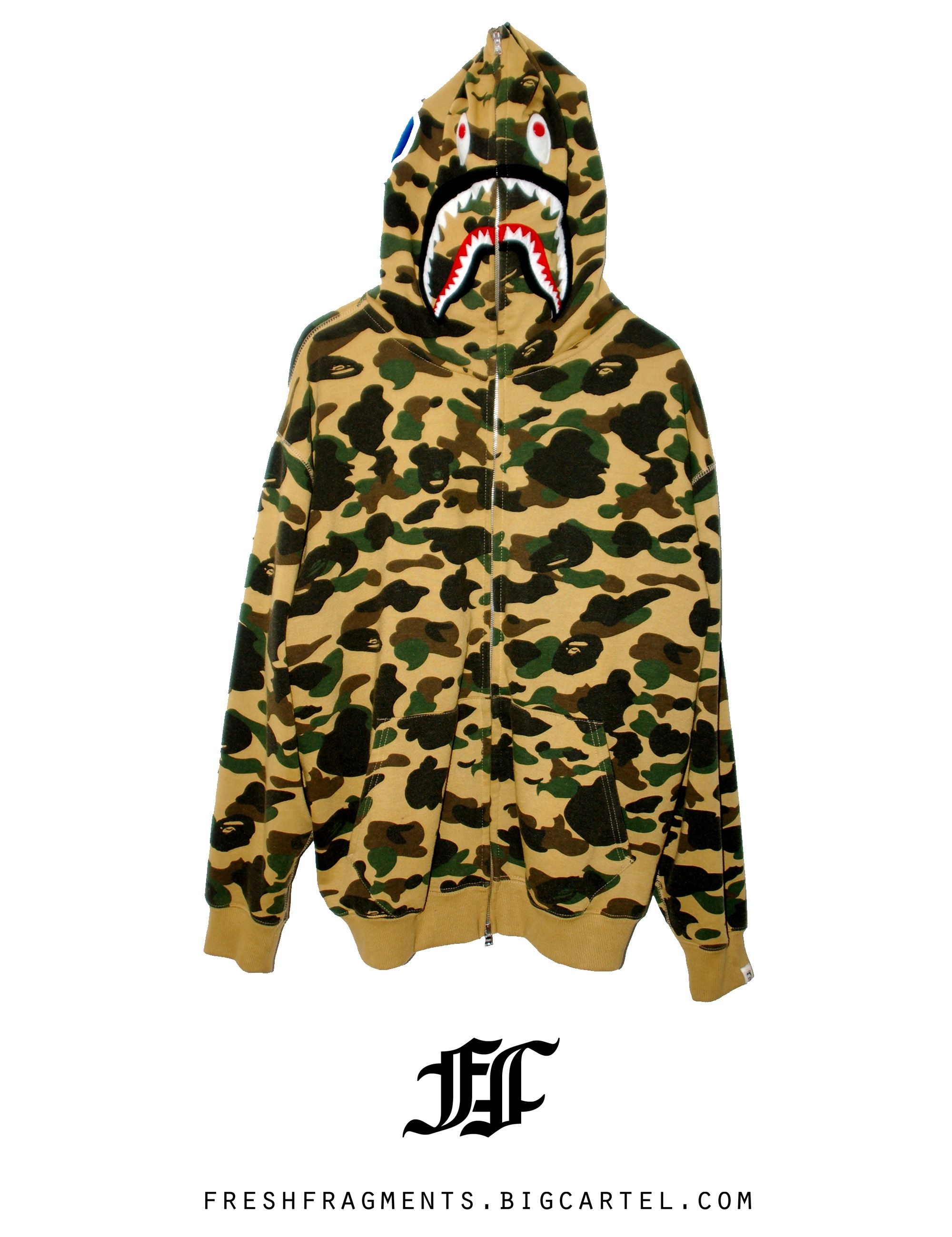 00b7210fb4ec i love this shark hoodie cause i love bape.