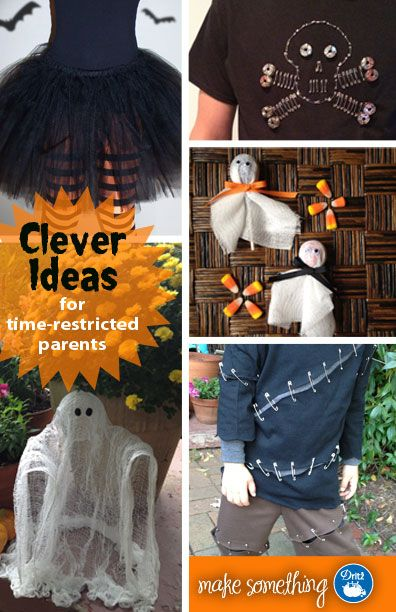 Diy halloween costumes decorations and treat ideas for yourself last minute halloween diy and craft projects for kids costumes treat ideas party dcor favorites are the frankenstein costume literally a 10min solutioingenieria Gallery