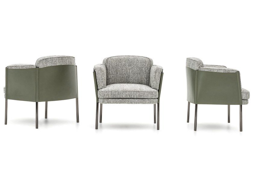 Download The Catalogue And Request Prices Of Shelley Easy Chair By Minotti Fabric Easy Chair With Armrests Design Gamf Furniture Furniture Chair Sofa Design