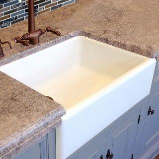 Water Creation 33 Inch X 21 Inch Zero Radius Single Bowl Stainless