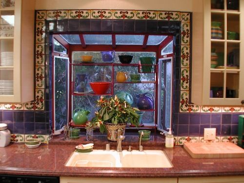 Mexican Style Kitchens Kitchen Ideas In Blue With Simple