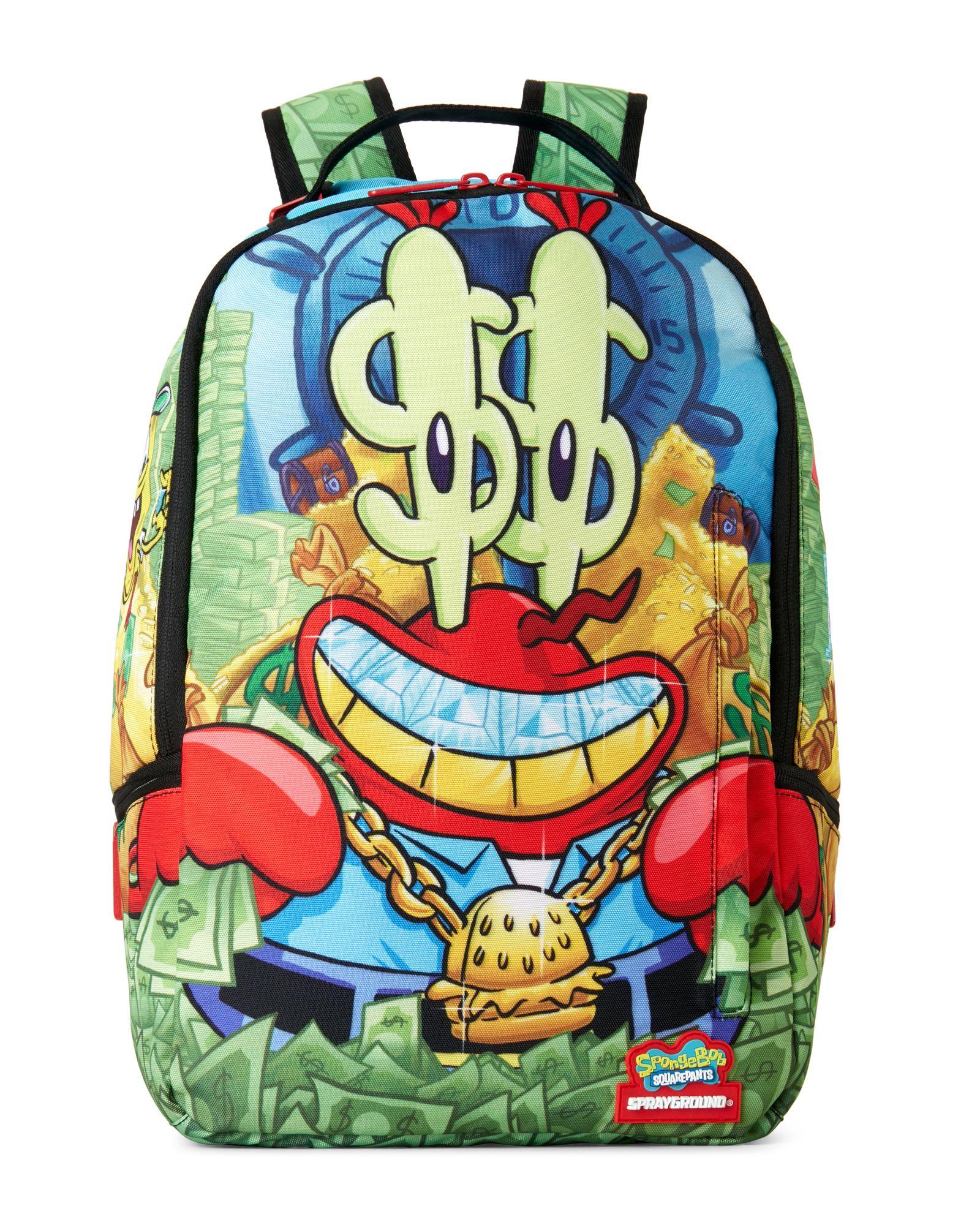 22faeaa8ee3f Sprayground Spongebob Money Krab Backpack