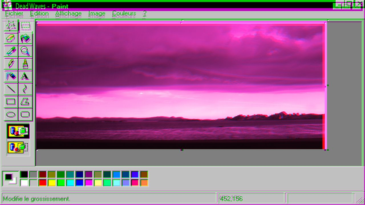 Windows 98 Paintbrush Aesthetic Pink Vaporwave