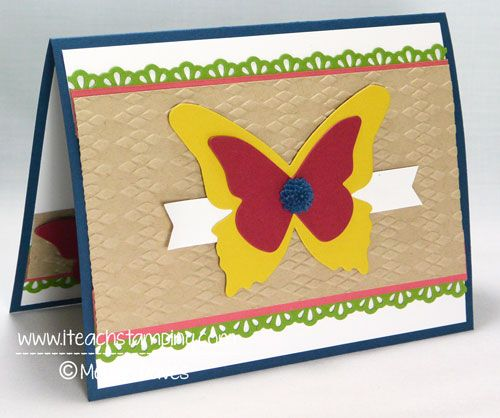 Friday Flip, How to Make A Thank You Card