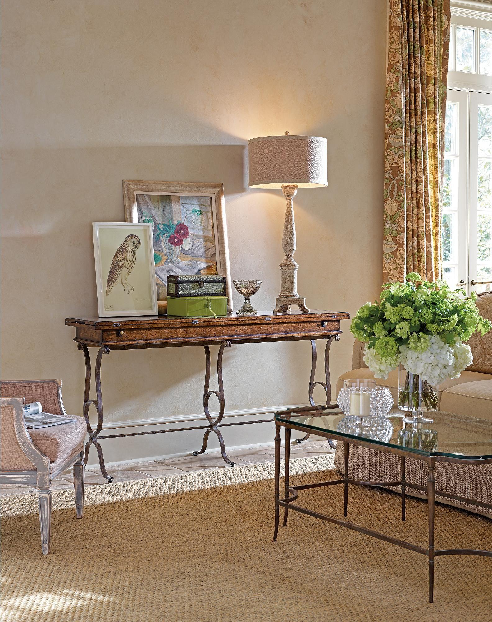 Stanley Furniture Arrondissement Villette Flip Top Console Table