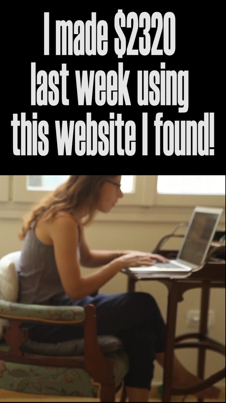 I made $2320 last week using this website I found!