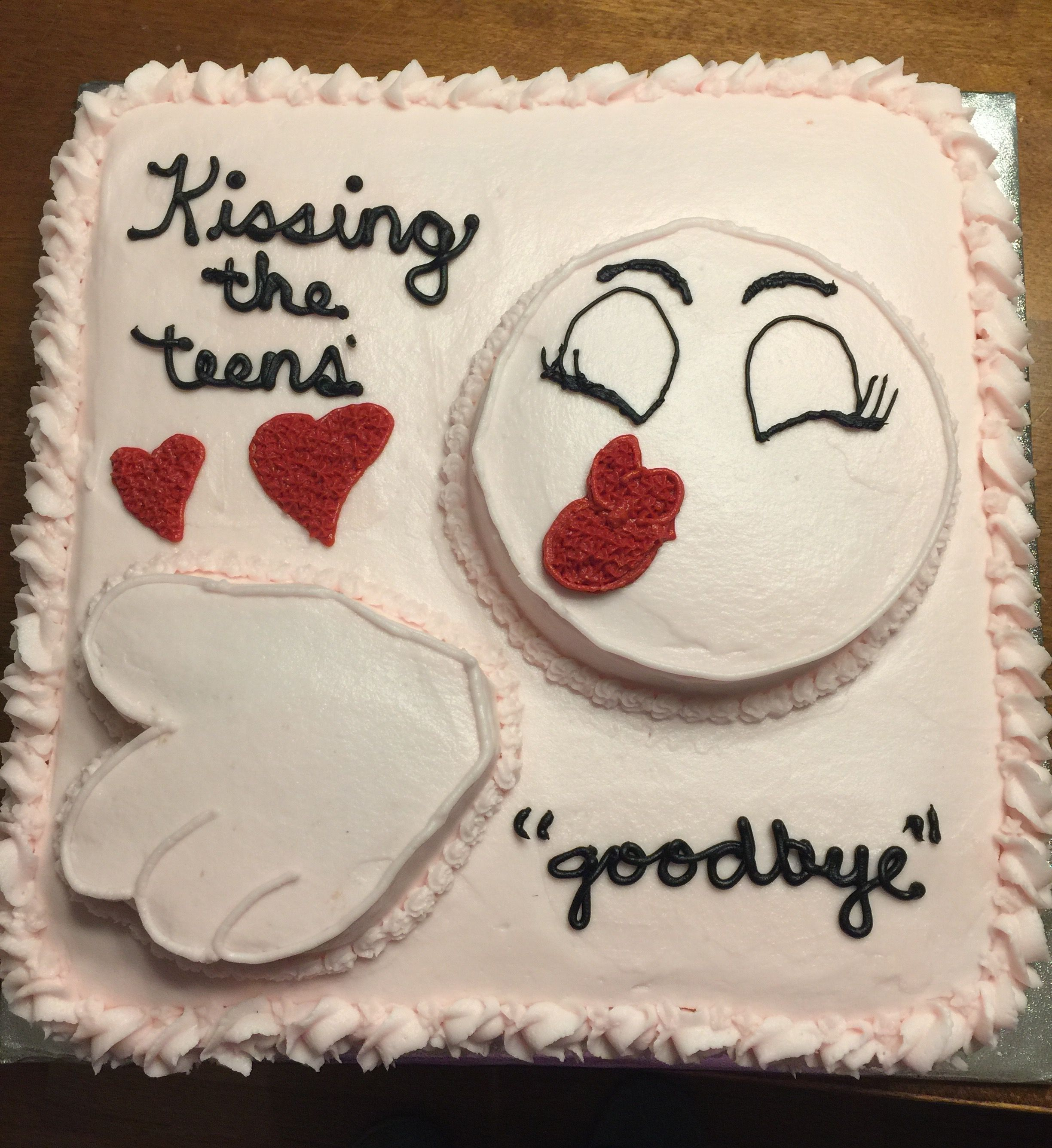 Emoji Cake For Girl S 20th Birthday