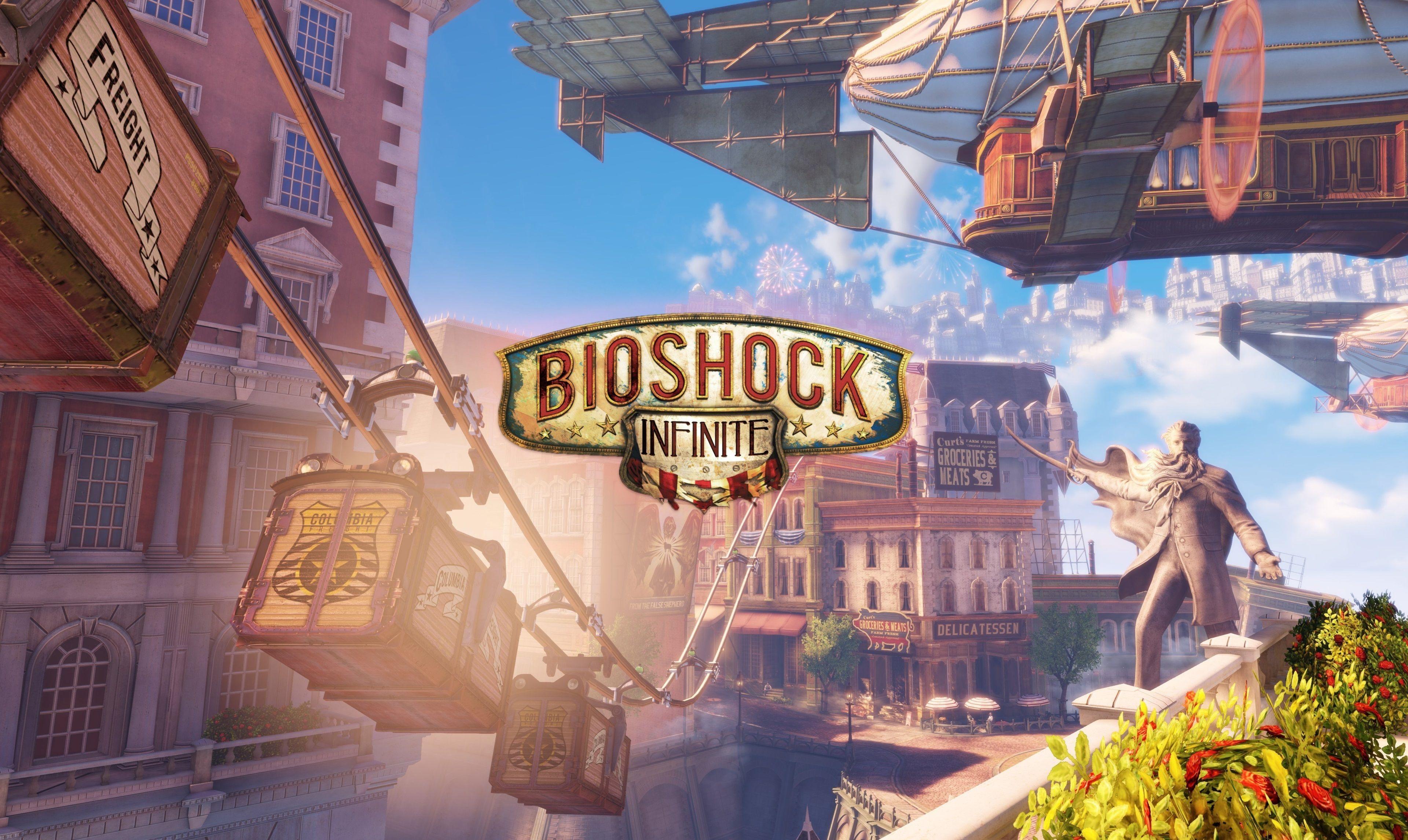3840x2292 Bioshock Infinite 4k Free Wallpaper Background Bioshock Bioshock Infinite Pc Games Wallpapers