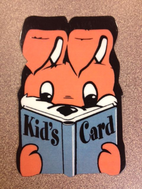 O'Fallon Public Library Kid's Card ~ O'Fallon, IL