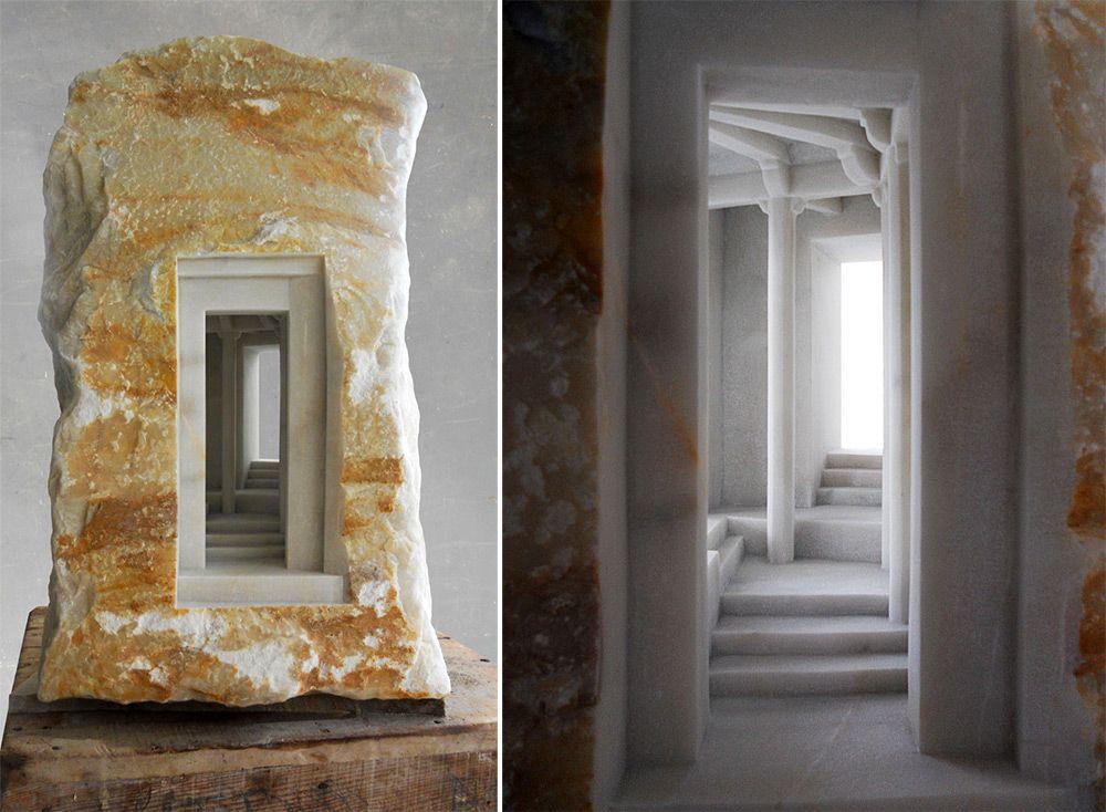 Estructuras arquitect nicas talladas en piedra por matthew for Estructuras arquitectonicas