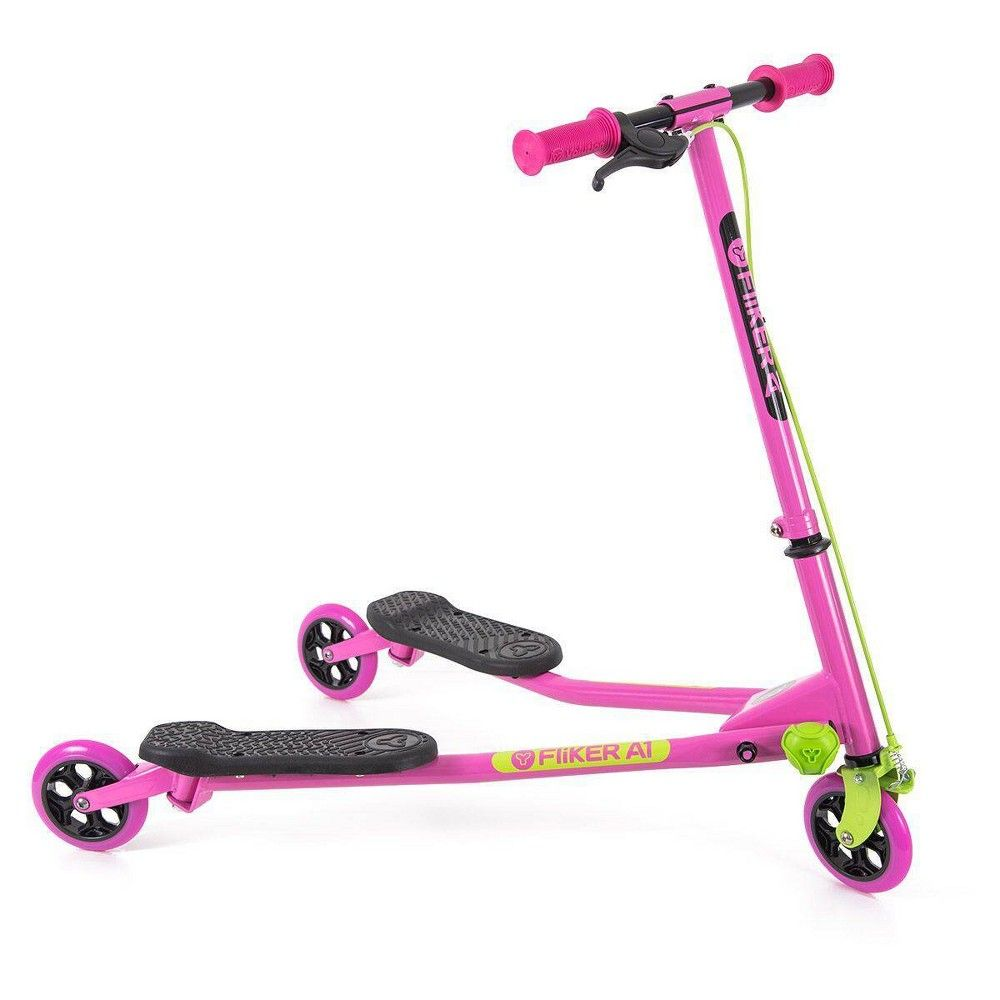 Yvolution Y Fliker A1 Pink 2 0 In 2021 Wiggle Scooter Kids Scooter Scooter