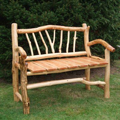 rustikale bank aus eiche wildholz eiche bank wildholz morgenstern erzgebirge schnitzen. Black Bedroom Furniture Sets. Home Design Ideas