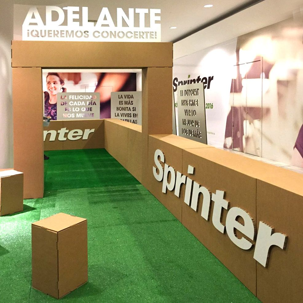Diseno De Evento Para Sprinter Recruiting Day En La Vaguada