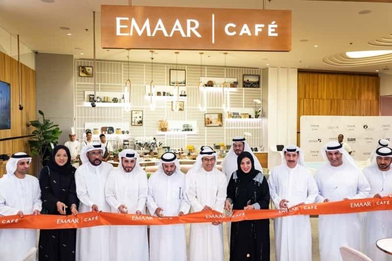 افتتاح مقهى إعمار كافيه في منطقة الأزياء فاشن أفنيو في دبي مول Dubai Real Estate Dubai Economic Development