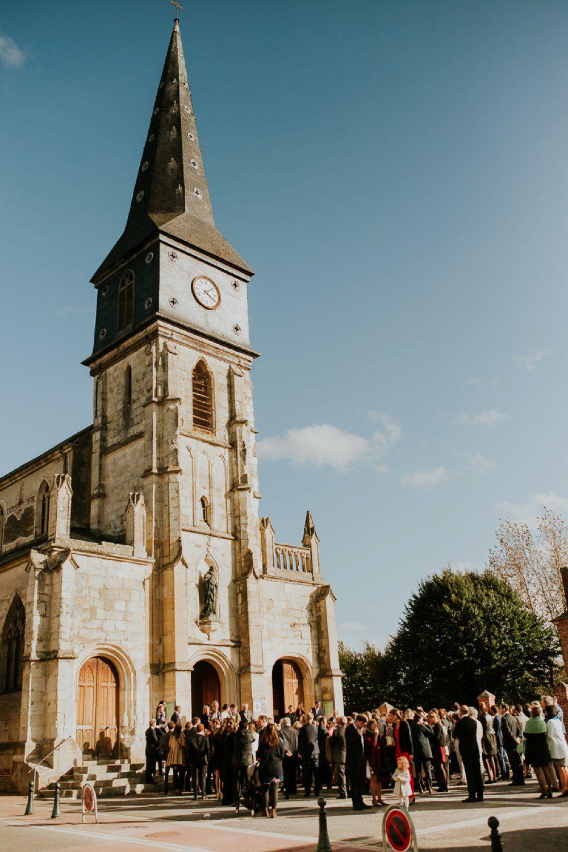 photographe mariage en Norman cérémonie  l église