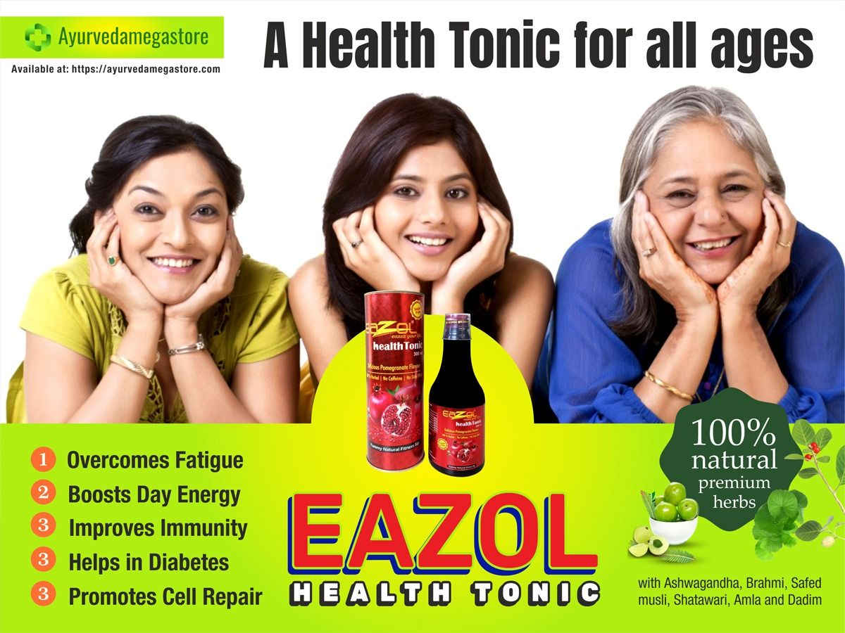 Purchase Eazol Health Tonic A Complete Family Drink For All Ages