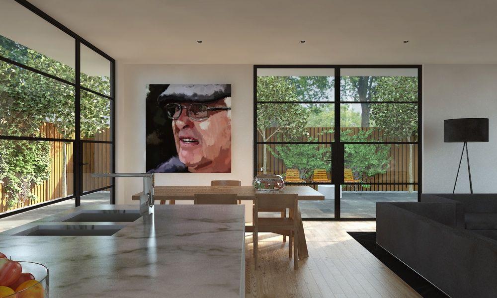 Melbourne Designed And Manufactured Steel Window Door Frames