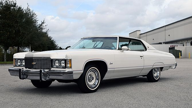 1974 Chevrolet Impala 350 Ci Build Sheet Mecum Auctions