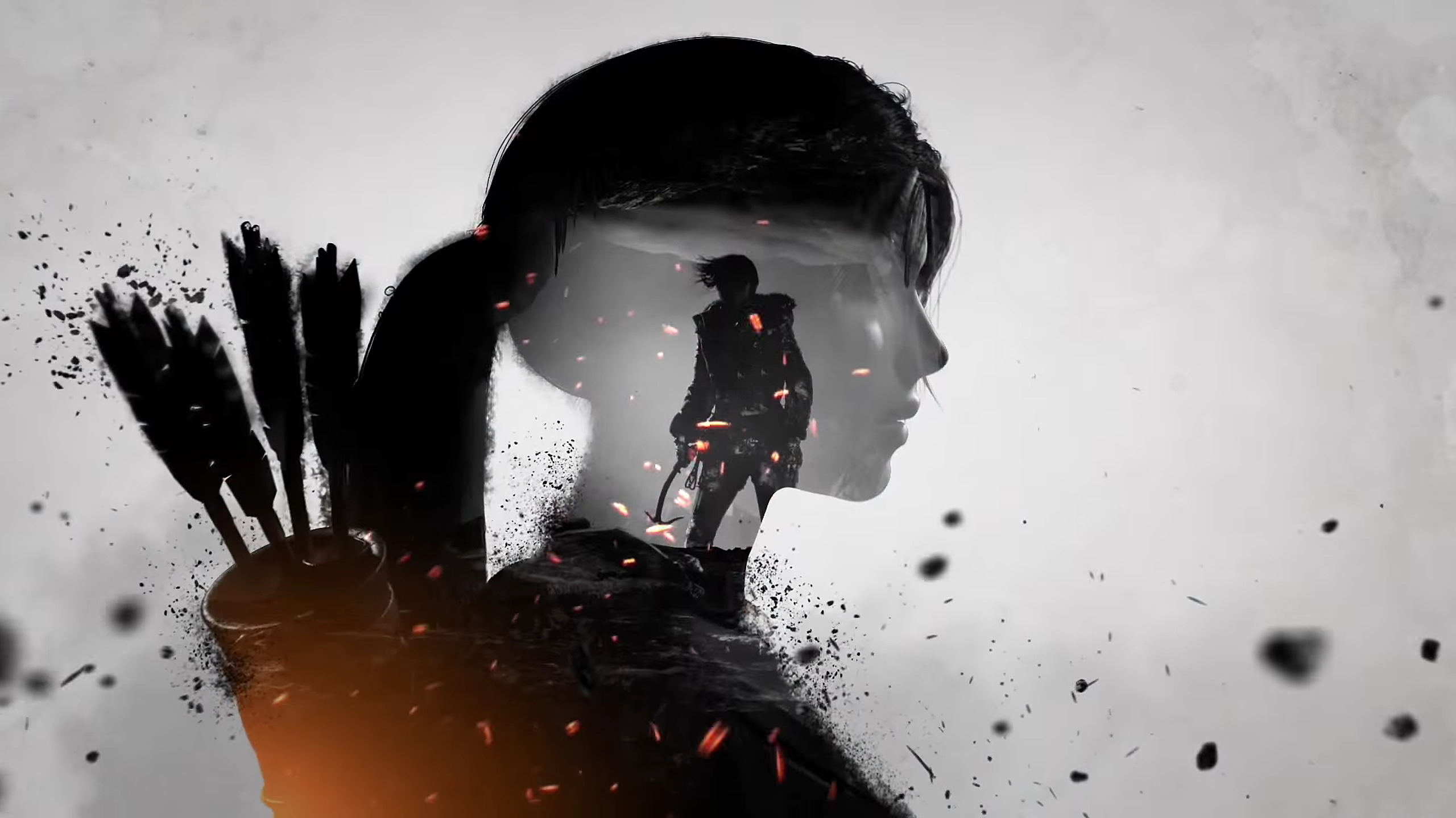 Rise Of The Tomb Raider Trailer Double Exposures 2560x1140