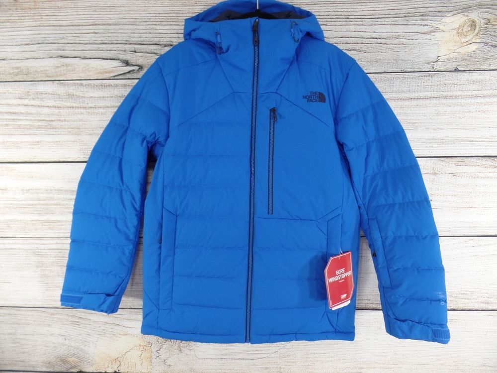 Certificado para justificar oyente  New Mens The North Face Blue Bomber COREFIRE 550 Goose Down Puffer Jacket  Large #TheNorthFace #BasicJacket | Blue bombers, Jackets, Basic jackets