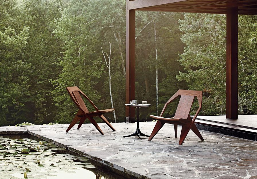 German Designer Konstantin Grcic Redefines The Modern Classic Adirondack  Chair For Herman Miller. Creating Furniture