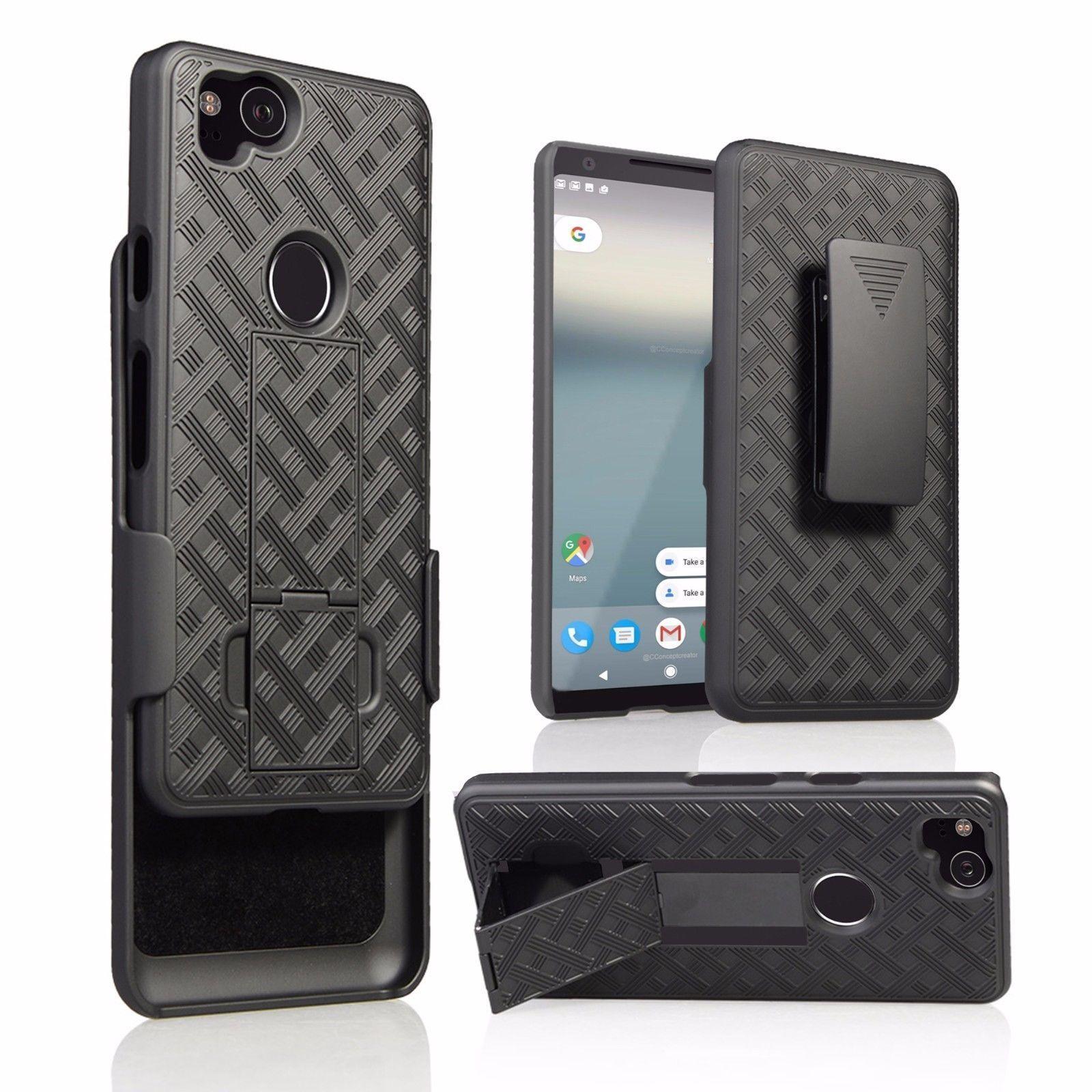 best sneakers 10afe 0eece Verizon Rugged Shell Holster Google Pixel 2 XL Case | Hot New ...