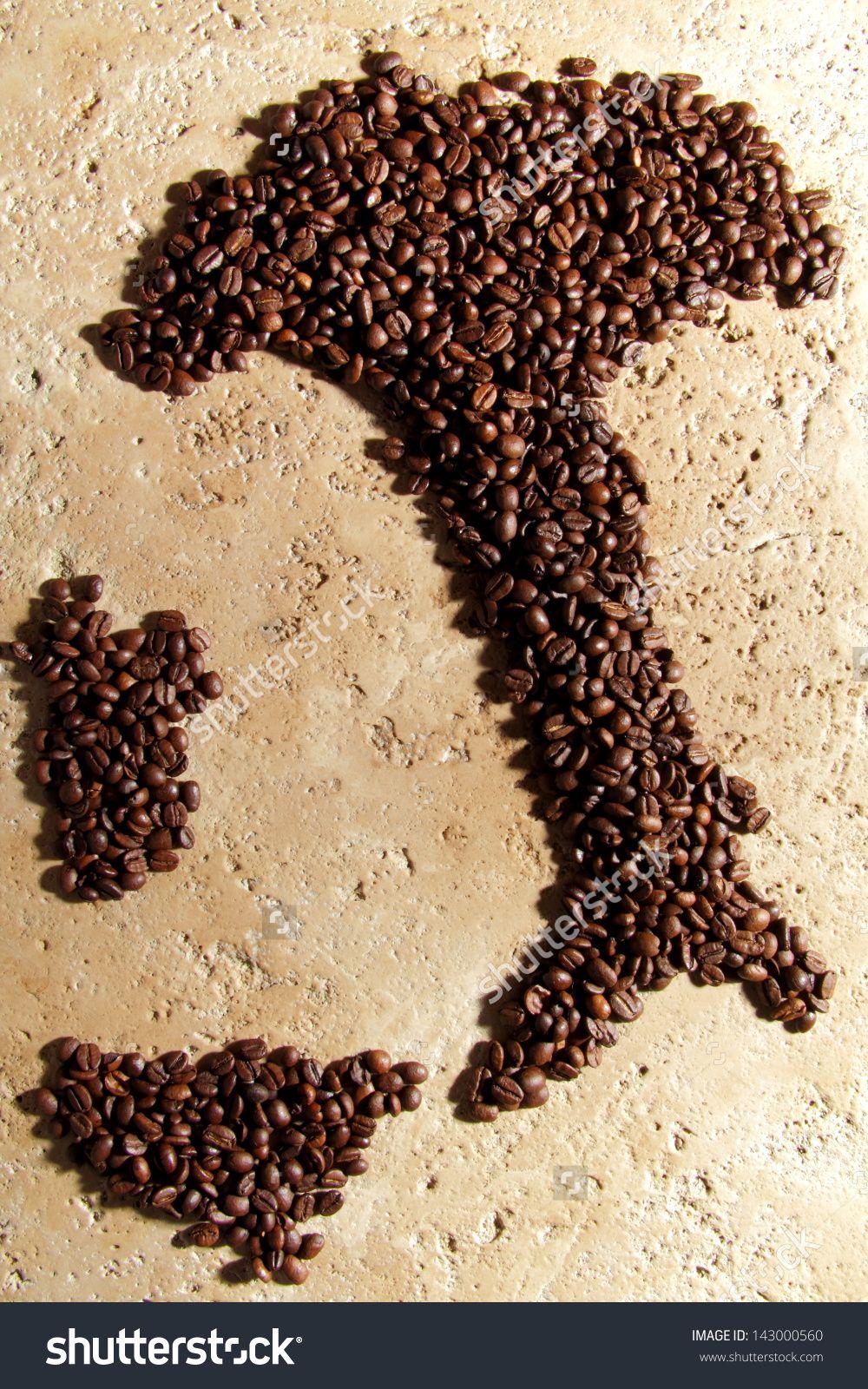 Italian Coffee Beans Stock Photo 143000560 Shutterstock