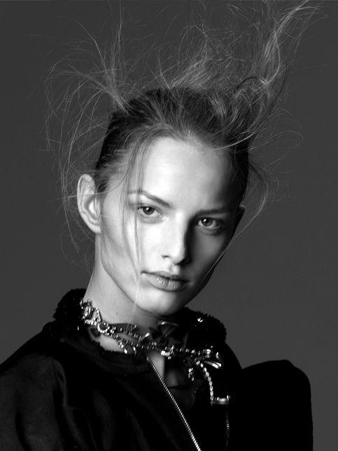 Babies Frizzy Hair Texture Fashion Magazine Model Nicolas