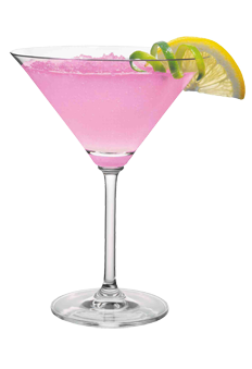 Skyy pink lemonade martini 2 oz skyy vodka 1 splash for Pink cocktails with vodka