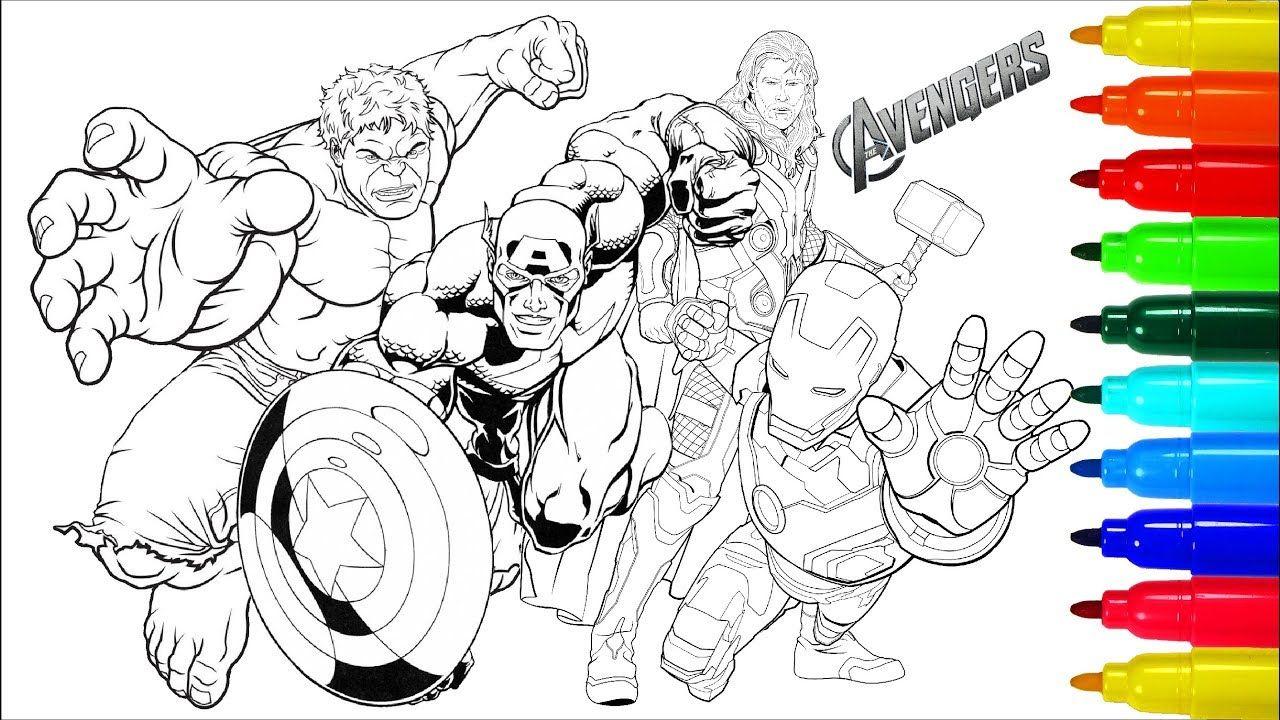 Para Colorear Avengers Coloring Pages 22 À Propos Des Pages à