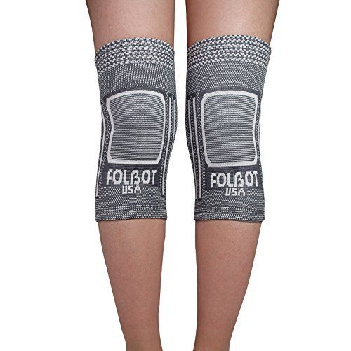 d6503d5381 Knee Support Brace Pair for Women Men Knee Compression Sleeve for arthritis  Knee Pain Recovery Running