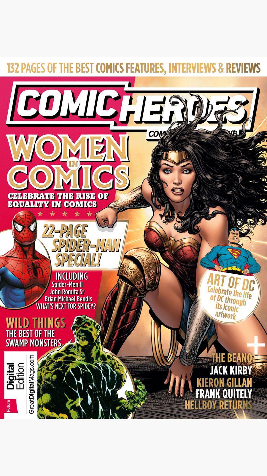 Comic Heroes: the superhero comics magazine #Lifestyle#plc